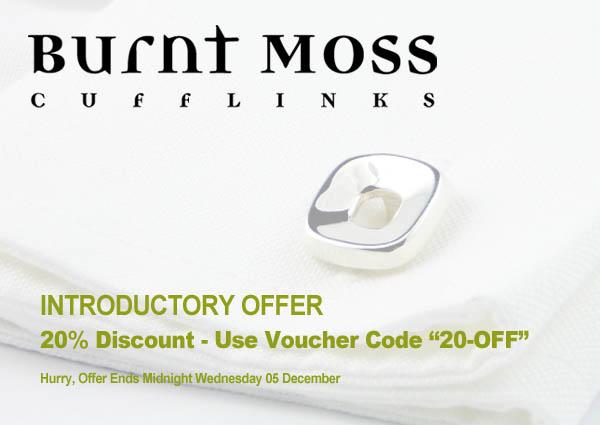 Cufflinks discount code offer