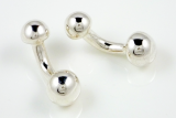 Ball Dumbbell Cufflinks