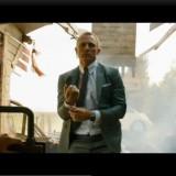 Making an entrance - James Bond style